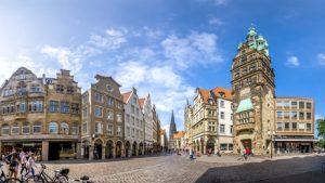 Das Angebot an Wohnraum in Münster kann die Nachfrage nicht decken.