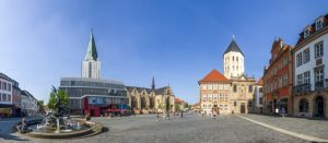 In Paderborn kann man mit etwas Glück noch eine gute Wohnung finden.